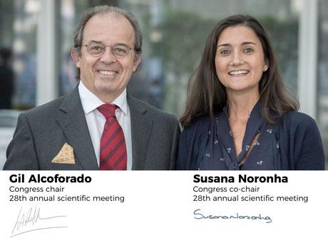 Gil Alcoforado and Susana Noronha